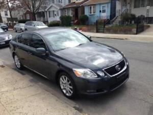 2006 Lexus GS 300, AWD, GPS, camera, touch screen, DVD,etc