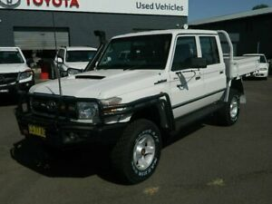 2013 Toyota Landcruiser VDJ79R MY12 Update GXL (4x4) French Vanilla 5 Speed Manual Wellington Wellington Area Preview
