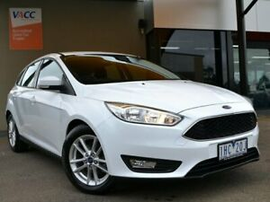 2016 Ford Focus LZ Trend White 6 Speed Automatic Hatchback Fawkner Moreland Area Preview