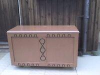 Wooden Storage Box - Heathrow