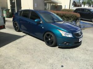2012 Holden Cruze JH MY12 CD Green 6 Speed Automatic Hatchback Maroochydore Maroochydore Area Preview