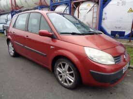 RENAULT SCENIC MPV , 2005 REG , LONG MOT , GREAT CONDITION , DRIVES SUPERB , TRADE IN TO CLEAR