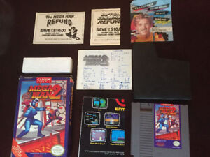 FOUR NES GAMES, MANY CIB, MEGA MAN 2 +