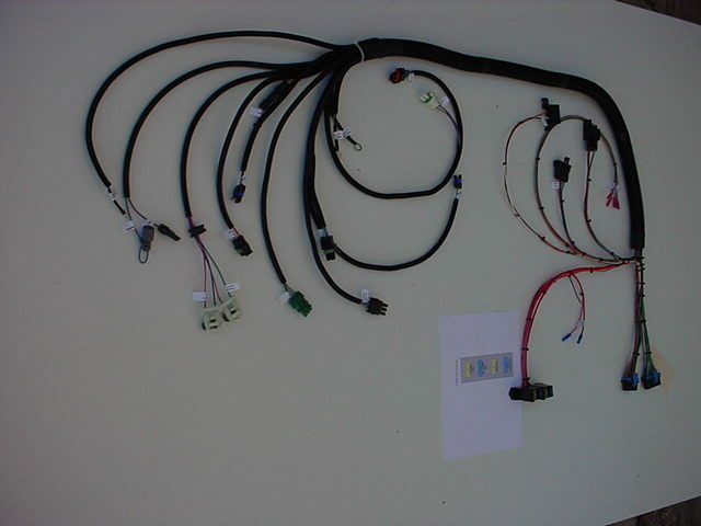 tbi harness car truck parts new tbi 1985 1992 gm engine throttle body injection wiring harness tbi usa