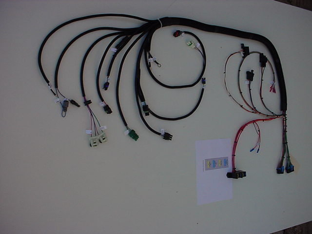 new tbi 1985 1992 gm engine throttle body injection wiring harness item information