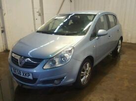 VAUXHALL CORSA D 5 DOOR AIR BLUE Z21C 4MU 06-14 BREAKING FULL CAR - Doors, wings, bumper, tailgate