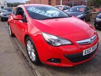 13 VAUXHALL ASTRA GTC CDTI 130 BHP SRI COUPE DIESEL £30 A YEAR TAX *LEATHER*