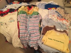 Little boys lot of clothes