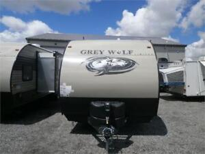 2018 FOREST RIVER GREY WOLF 19 RR TOY HAULER!! LOADED! $22995!
