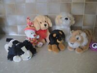 6 CUTE AND CUDDLY SOFT TOYS