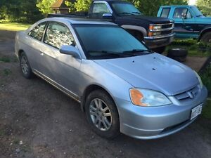 2002 Honda Civic SI Coupe (2 door) $1500$obo