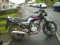 125 learner bike