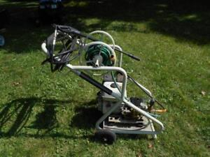 Gas driven power washer