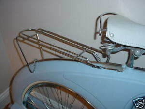 BOWDEN SPACELANDER REAR RACK CARRIER  RARE NEVER USED
