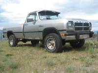 1991 Dodge Power Ram 1500 4x4 Pickup Truck