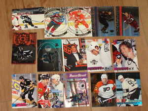 Cartes de hockey Stadium Club 2001-02, 02-03, inserts