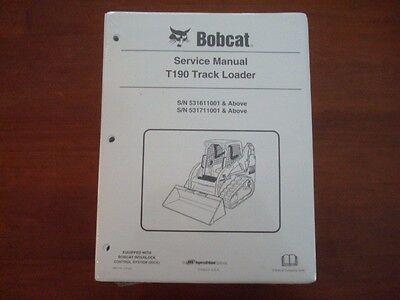 New Genuine Bobcat S175 S185 Skid Steer Service Manual 6904132 Bk57
