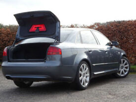 AUDI A4 1.9TDi 4Dr (grey) 2005