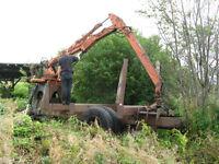 Prentice log loader (boom loader)