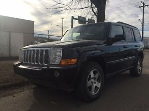 2009 Jeep Commander Sport 4WD   2 years free warrnety