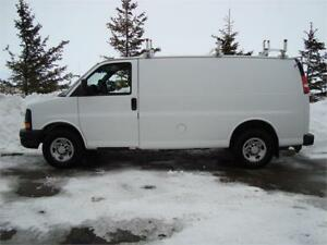 2007 CHEVY EXPRESS 3500 CARGO VAN 6.0L 215K ONLY $7,875.