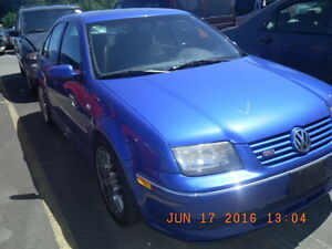 VW 2005 Jetta GLI (PARTS ONLY)