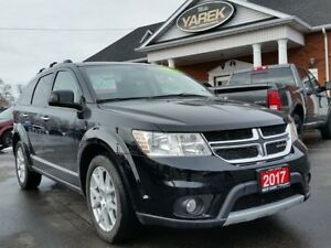 2017 Dodge Journey GT AWD, DVD, Heated Seats/Wheel, Back Up Cam/