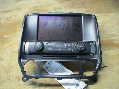 2015 Chevrolet Silverado 2500 Radio Control Panel w/Display Screen OEM