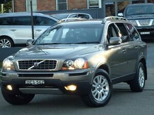 2008 Volvo XC90 MY07 D5 Grey 6 Speed Automatic Geartronic Wagon Clyde Parramatta Area Preview