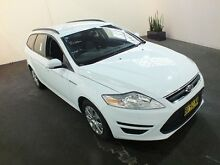 2013 Ford Mondeo MC LX Tdci White 6 Speed Direct Shift Wagon Clemton Park Canterbury Area Preview