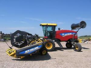 2015 NEW HOLLAND SP200-40FT SWATHER