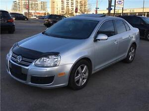 2009 Volkswagen Jetta 2.0 TDI Highline, LEATHER, SUNROOF