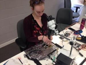 WIRELESS TRAINING CENTER | CELL PHONE, IC, IPAD, MICRO SOLDERING REPAIR TRAINING COURSE LEVEL 1 - 4 IN WINNIPEG