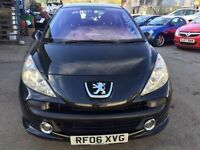 Peugeot 207, starts and drives well, 1 years MOT, 2006 (runs out February 2018) just had new clutch
