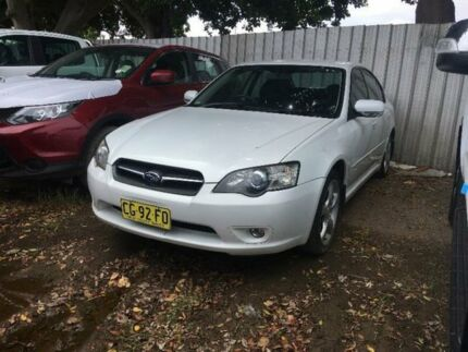 2005 Subaru Liberty B4 2.5I White 4 Speed Auto Elec Sportshift