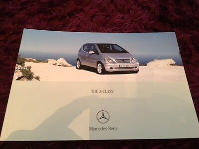 Mercedes-Benz A-Class Brochure 2004 - 02/04 issue