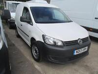 Volkswagen Caddy C20 1.6 Tdi 75Ps Van DIESEL MANUAL WHITE (2013)