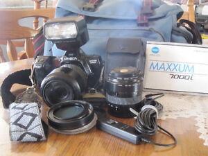 Caméra Minolta Maxxum 7000i 35 mm NOUVEAU PRIX
