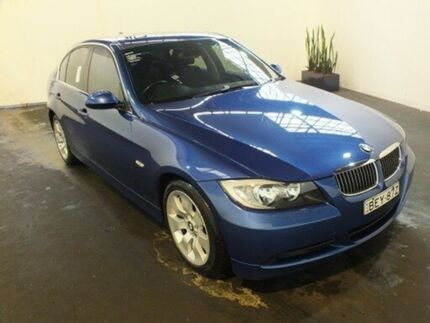 2007 BMW 325I E90 Blue 6 Speed Steptronic Sedan Clemton Park Canterbury Area Preview