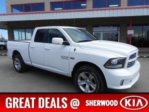 2014 Ram 1500 4WD QUADCAB SPORT Accident Free,  A/C,