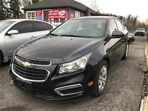 2015 Chevrolet Cruze 1LT|Car Loans available for Any Credit