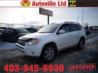 2008 Toyota RAV4 Limited AWD SUNROOF $13988