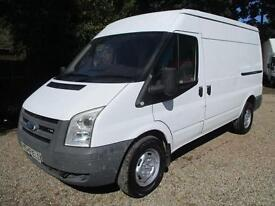 Ford Transit 2.4TDCi 2008 REG 350 MWB,AIR CON,NO VAT,1 OWNER,GOOD CONDITION