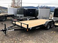 2019 C & B 16' Competitor Flatbed Trailer w. spare tire Smithers Skeena-Bulkley Area Preview