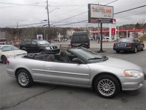 2004 Chrysler Sebring LX Convertible SHARP CAR! Only $4995