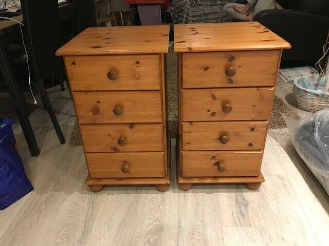 wholesale dealer 1bf7a 6d903 2 x solid pine chest of drawers for sale. £25 each | in Norwood, London |  Gumtree