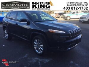 2017 Jeep Cherokee LIMITED | LEATHER | NAV | HEATED SEATS | LOW