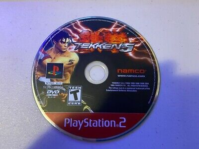 Tekken 5 (Sony Playstation 2 PS2) - DISC ONLY