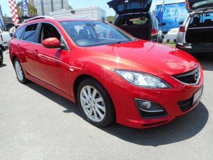 2012 Mazda 6 GH1052 MY12 Touring Candy Red 5 Speed Sports Automatic Wagon