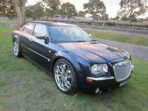 2005 Chrysler 300C LE MY06 5.7 Hemi V8 Blue 5 Speed Automatic Sedan Mayfield East Newcastle Area Preview